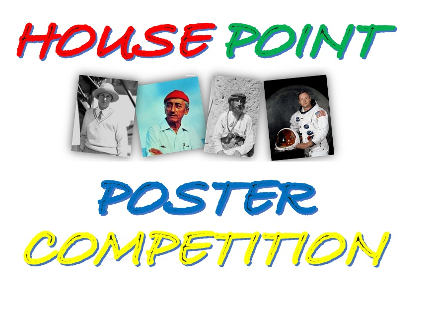 House Point Poster Competition for Primary Students