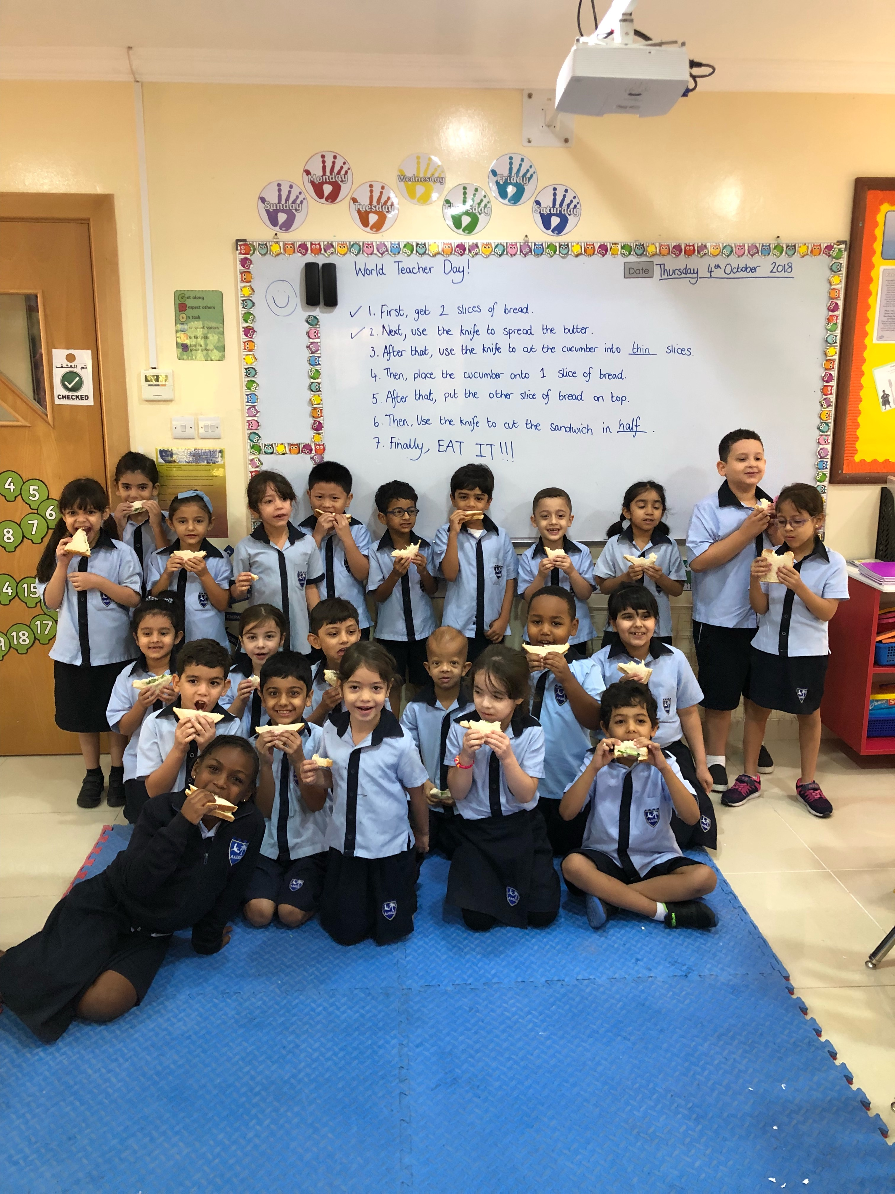 Year 2D – Taking a bite out of healthy eating