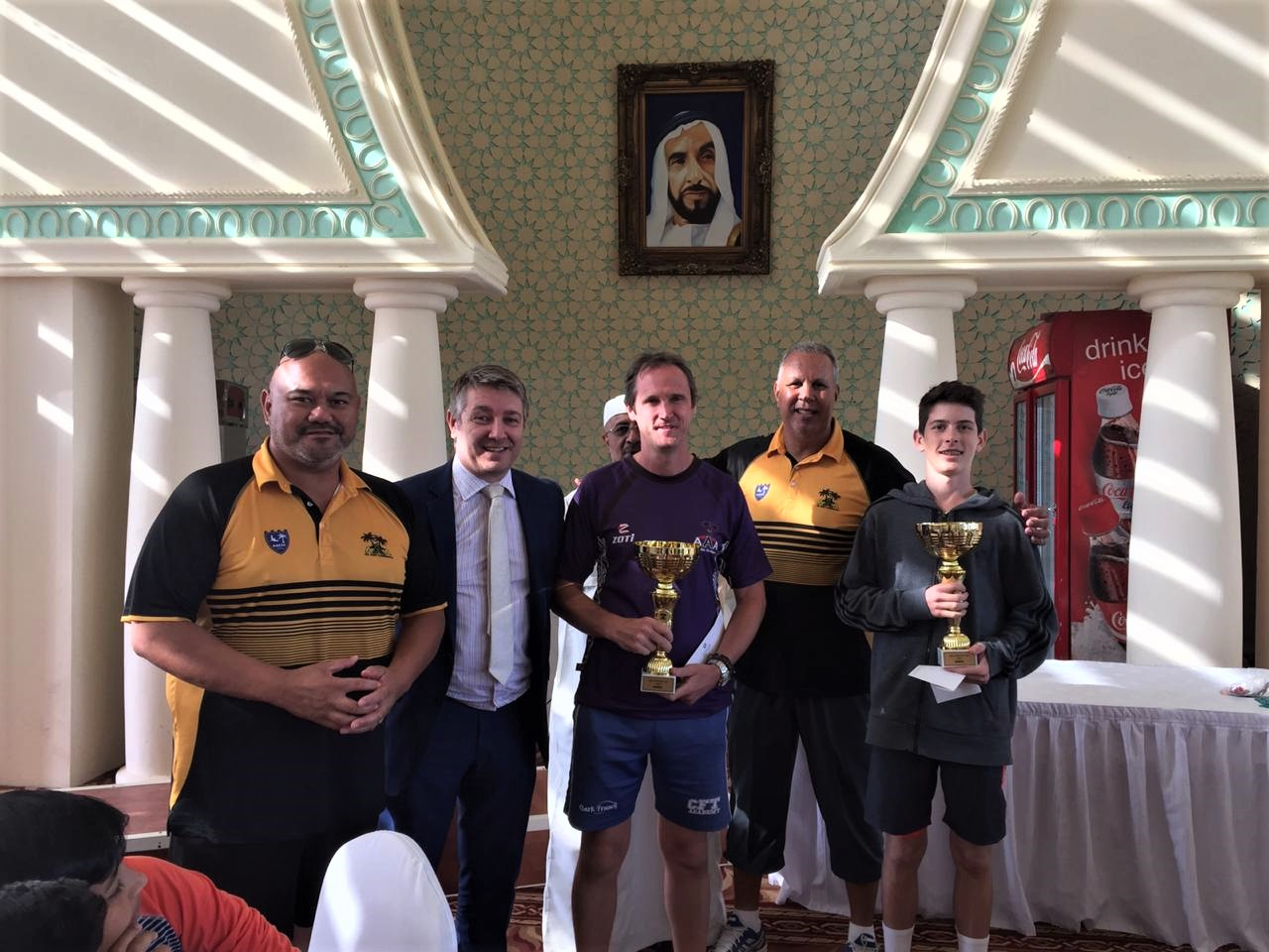 Cael Coventry excels in 'Countries Cup Tennis Competition'
