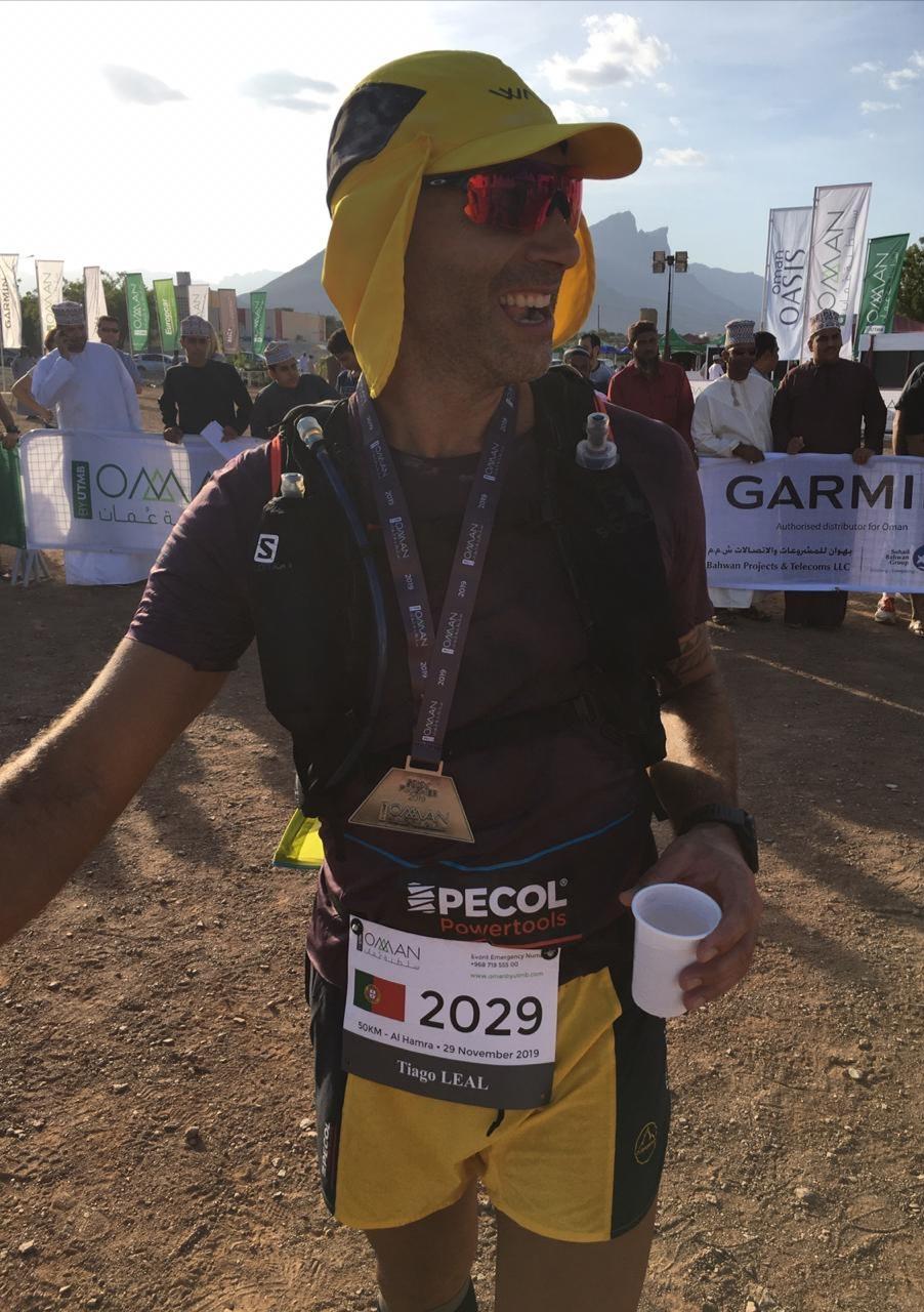 Tiago in Oman by UTMB